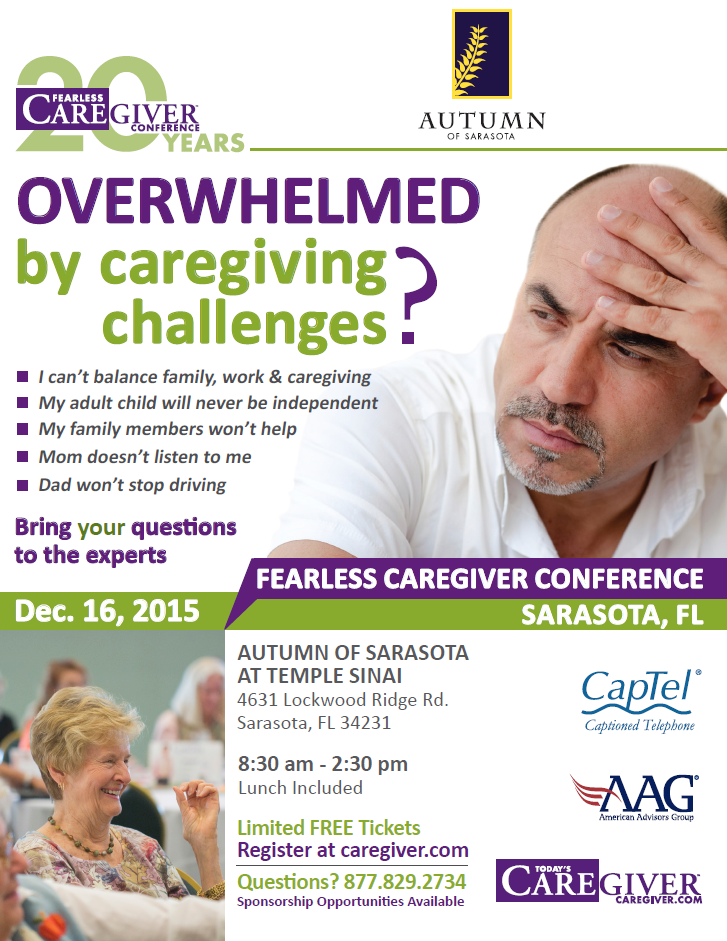 Caregiver event SQR